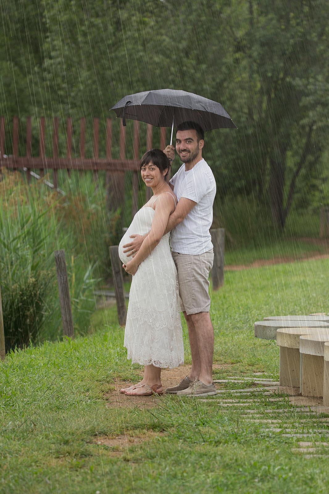 dia de pluja embaràs