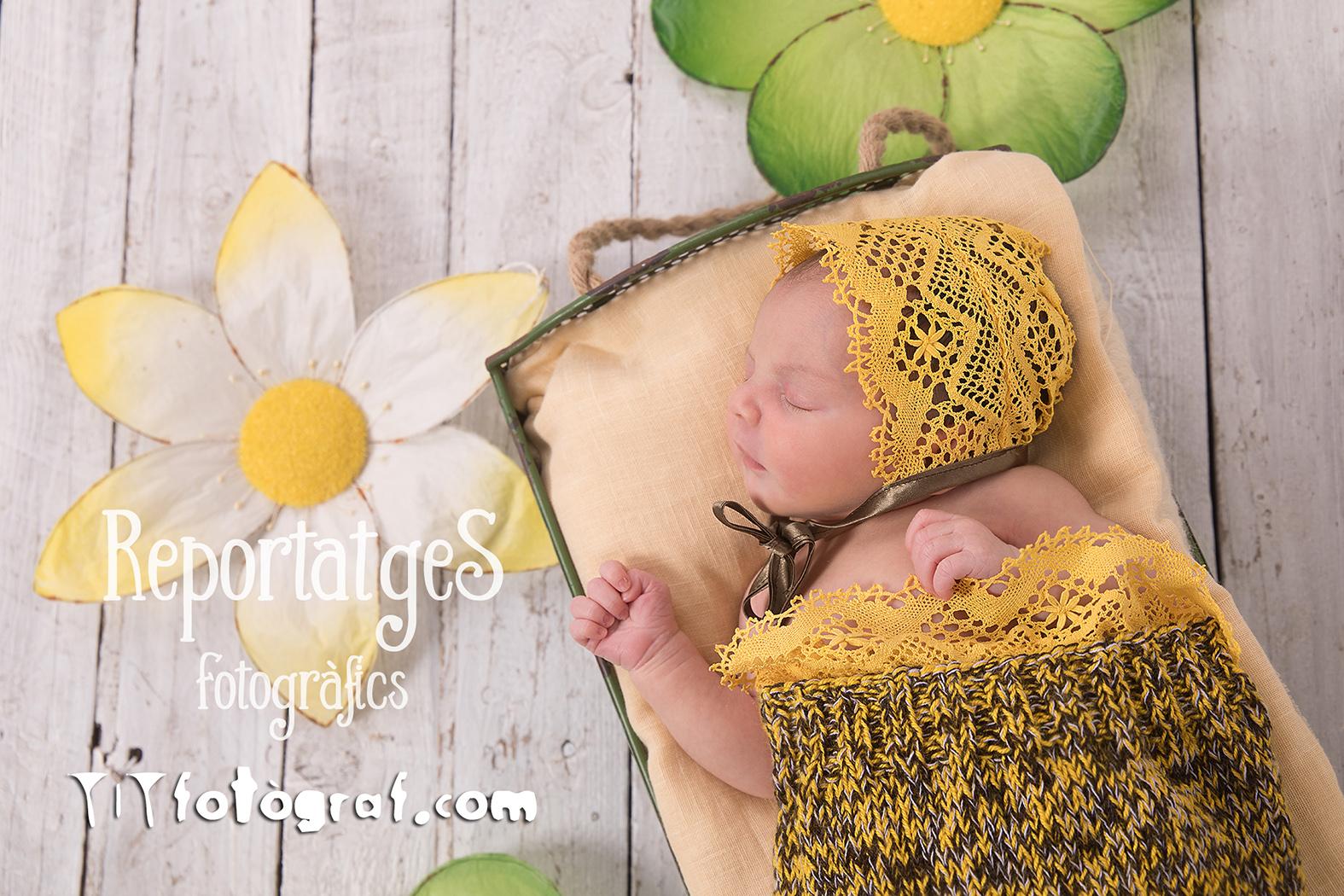 foto d'estudi nadó